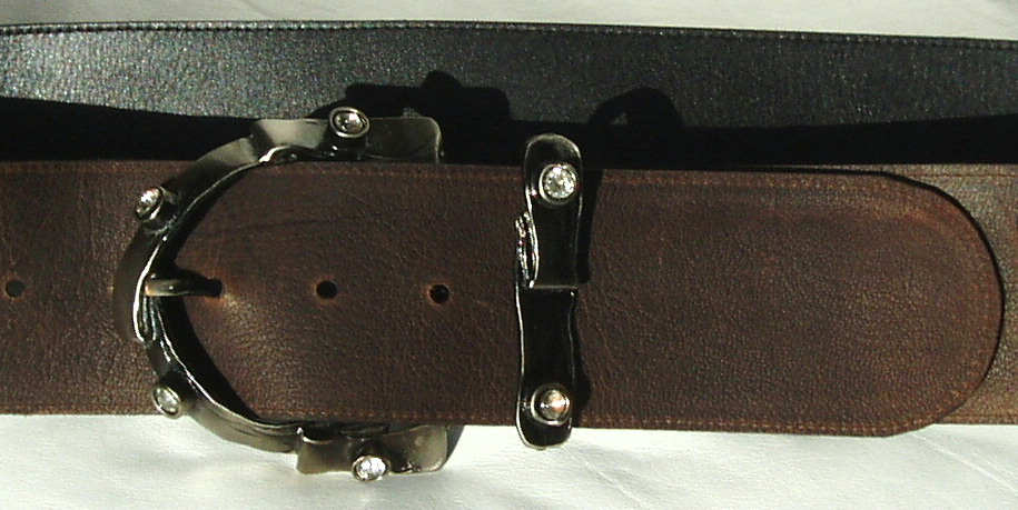 Wide Leather Belts